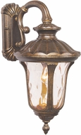 Livex 7653-50 Oxford Traditional Moroccan Gold Exterior 9.5  Wall Light Sconce