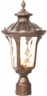 Livex 7655-50 Oxford Traditional Moroccan Gold Outdoor Lighting Post Light