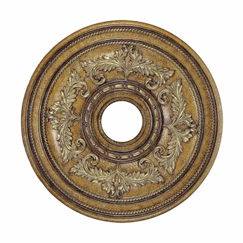 Livex 8200-57 Traditional Venetian Patina 22.5  Ceiling Medallion