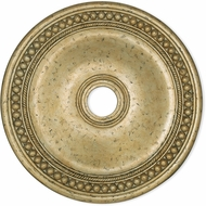 Livex 82076-28 Wingate Hand Applied Winter Gold 30 Medallion