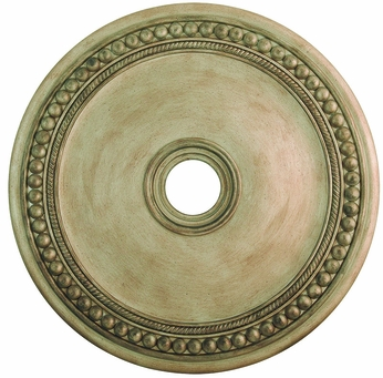 Livex 82076-73 Wingate Hand Painted Antique Silver Leaf 30  Ceiling Medallion