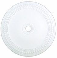Livex 82078-03 Wingate White 42  Ceiling Medallion