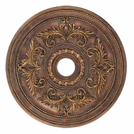 Livex 8210-30 Crackled Greek Bronze 30.5  Medallion