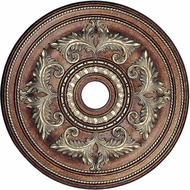 Livex 8210-64 Palacial Bronze with Gilded Accents 30.5  Ceiling Medallion