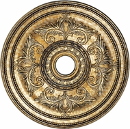 Livex 8210-65 Hand Painted Vintage Gold Leaf 30.5  Medallion