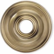 Livex 8217-01 Antique Brass 16  Ceiling Medallion