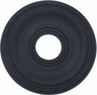 Livex 8217-04 Black 16  Ceiling Medallion