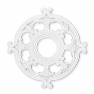 Livex 8218-03 White 18  Medallion