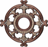 Livex 8218-64 Palacial Bronze with Gilded Accents 18  Ceiling Medallion