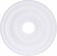 Livex 8219-03 White 20  Ceiling Medallion