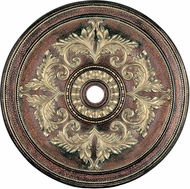 Livex 8228-64 Palacial Bronze with Gilded Accents 48.5  Ceiling Medallion