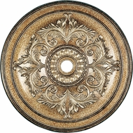 Livex 8228-65 Hand Painted Vintage Gold Leaf 48.5  Medallion