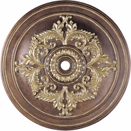 Livex 8229-64 Palacial Bronze with Gilded Accents 60  Ceiling Medallion
