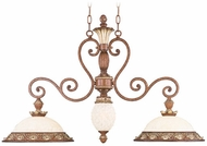 Livex 8472-57 Savannah Traditional Venetian Patina Kitchen Island Lighting