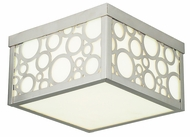 Livex 86792-91 Avalon Brushed Nickel Overhead Light Fixture