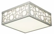 Livex 86793-91 Avalon Brushed Nickel Overhead Lighting Fixture