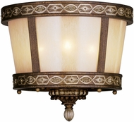 Livex 8860-64 Seville Traditional Palacial Bronze with Gilded Accents Overhead Lighting