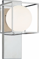 Matteo S03801CH Squircle Modern Chrome Lamp Sconce
