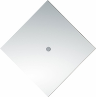 Matteo W55401CH Christallo Contemporary Chrome LED Lighting Wall Sconce