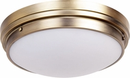Matteo X46303BG Fresh Colonial Contemporary Brushed Gold 17 Ceiling Lighting Fixture