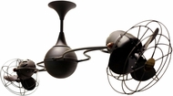 Matthews IV-BZ-MTL Italo Ventania Contemporary Bronze 53  Rotational Ceiling Fan with Metal Blades