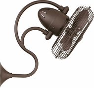 Matthews ME-TB Melody Textured Bronze Interior/Exterior 13  Oscillating Wall Fan