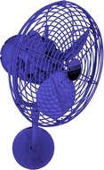 Matthews MP-BLUE-MTL Michelle Parede Contemporary Blue Interior/Exterior 19  Directional Wall Fan