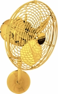 Matthews MP-GOLD-MTL Michelle Parede Modern Gold Interior/Exterior 19  Directional Wall Fan