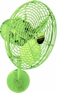 Matthews MP-LTGREEN-MTL Michelle Parede Contemporary Light Green Interior/Exterior 19  Directional Wall Fan