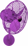 Matthews MP-LTPURPLE-MTL Michelle Parede Modern Light Purple Interior/Exterior 19  Directional Wall Fan