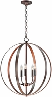Maxim 10032OI Provident Oil Rubbed Bronze Chandelier Light