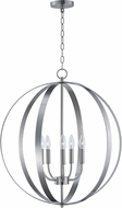 Maxim 10032SN Provident Satin Nickel Ceiling Chandelier