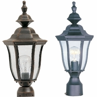 Maxim 1013 Madrona Traditional 17  Tall Exterior Post Light Fixture