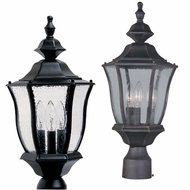 Maxim 1015 Madrona Traditional 18.5  Tall Exterior Post Lamp