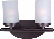 Maxim 10212FTOI Corona Oil Rubbed Bronze 2-Light Bathroom Lighting
