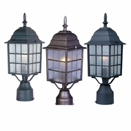 Maxim 1052 North Church Traditional 6  Wide Exterior Lighting Post Light