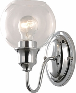 Maxim 1111CLPC Ballord Contemporary Polished Chrome Wall Lamp