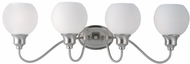 Maxim 1114SWSN Ballord Modern Satin Nickel 4-Light Vanity Lighting