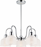 Maxim 11327CLPC Hollow Modern Polished Chrome Chandelier Lighting