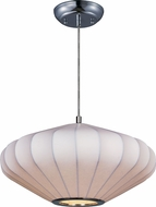 Maxim 12185WTPC Cocoon Polished Chrome Pendant Lamp