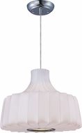 Maxim 12186WTPC Cocoon Polished Chrome Hanging Lamp