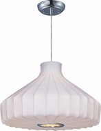 Maxim 12187WTPC Cocoon Polished Chrome Hanging Light