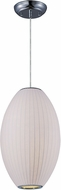 Maxim 12188WTPC Cocoon Modern Polished Chrome Pendant Lamp