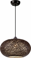 Maxim 14402CHWT Bali Contemporary Chocolate Hanging Pendant Lighting