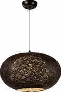 Maxim 14404CHWT Bali Contemporary Chocolate Pendant Hanging Light