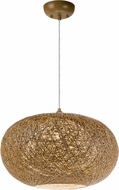 Maxim 14404NAWT Bali Modern Natural Hanging Light Fixture