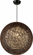 Maxim 14405CHWT Bali Contemporary Chocolate Drop Lighting