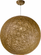 Maxim 14407NAWT Bali Modern Natural Ceiling Pendant Light