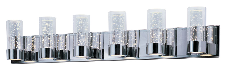Maxim 20906clpc sync contemporary polished chrome finish 405 wide maxim 20906clpc sync contemporary polished chrome finish 405nbsp wide led 12 light bathroom light loading zoom aloadofball Image collections