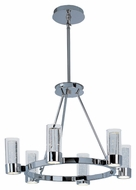 Maxim 20907CLPC Sync Modern Polished Chrome Finish 18  Tall LED Chandelier Light